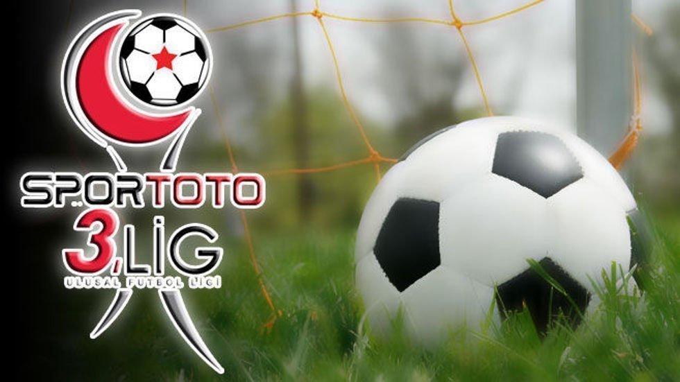 Spor Toto 3.Lige çıkan son 3 ekip belli oldu!