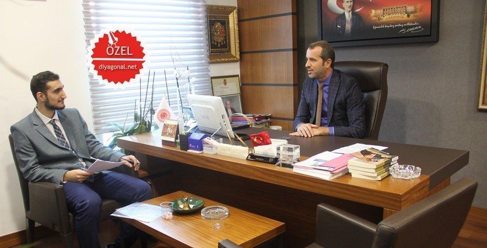 Saffet Sancaklı - Röportaj - diyagonal.net