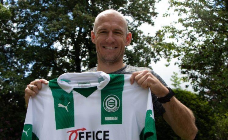 Arjen Robben, Grogingen ile futbola döndü