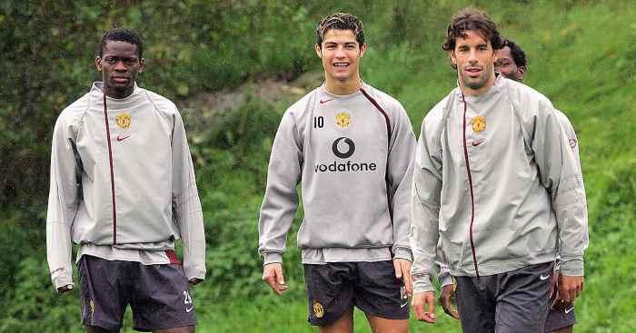 Cristiano Ronaldo-Louis Saha-Ruud Van Nistelrooy