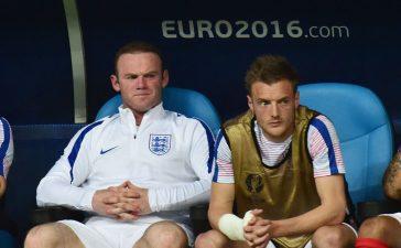 Jamie Vardy ve Wayne Rooney