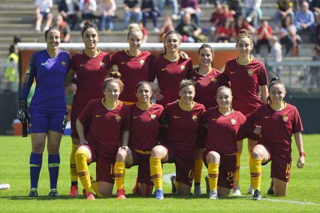 Roma Kadın Futbol Takımı futbolcuları