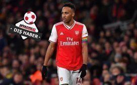 Aubameyang Arsenal'den haftalık 250.000 sterlin istiyor