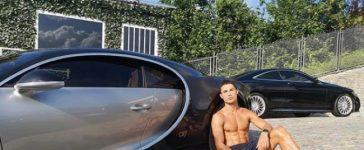 Ronaldo'nun yeni arabası