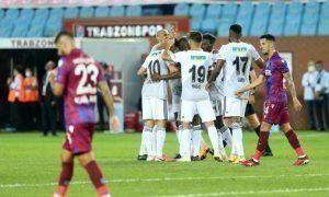 2020-2021 sezonu 1.hafta basında Beşiktaş, Trabzonspor deplasmanında rakibini 3-1 mağlup ederek 3 puanı aldı.
