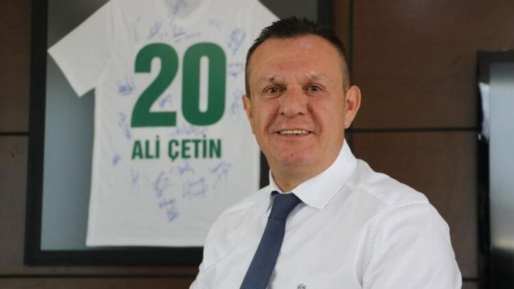 Denizlispor Başkanı Ali Çetin'den açıklama