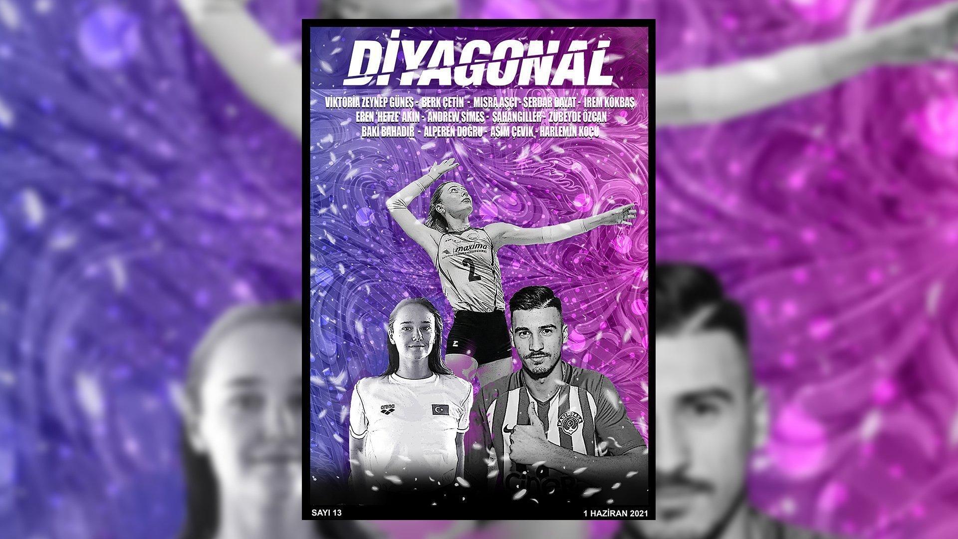 Diyagonal E-Dergi Haziran sayısı