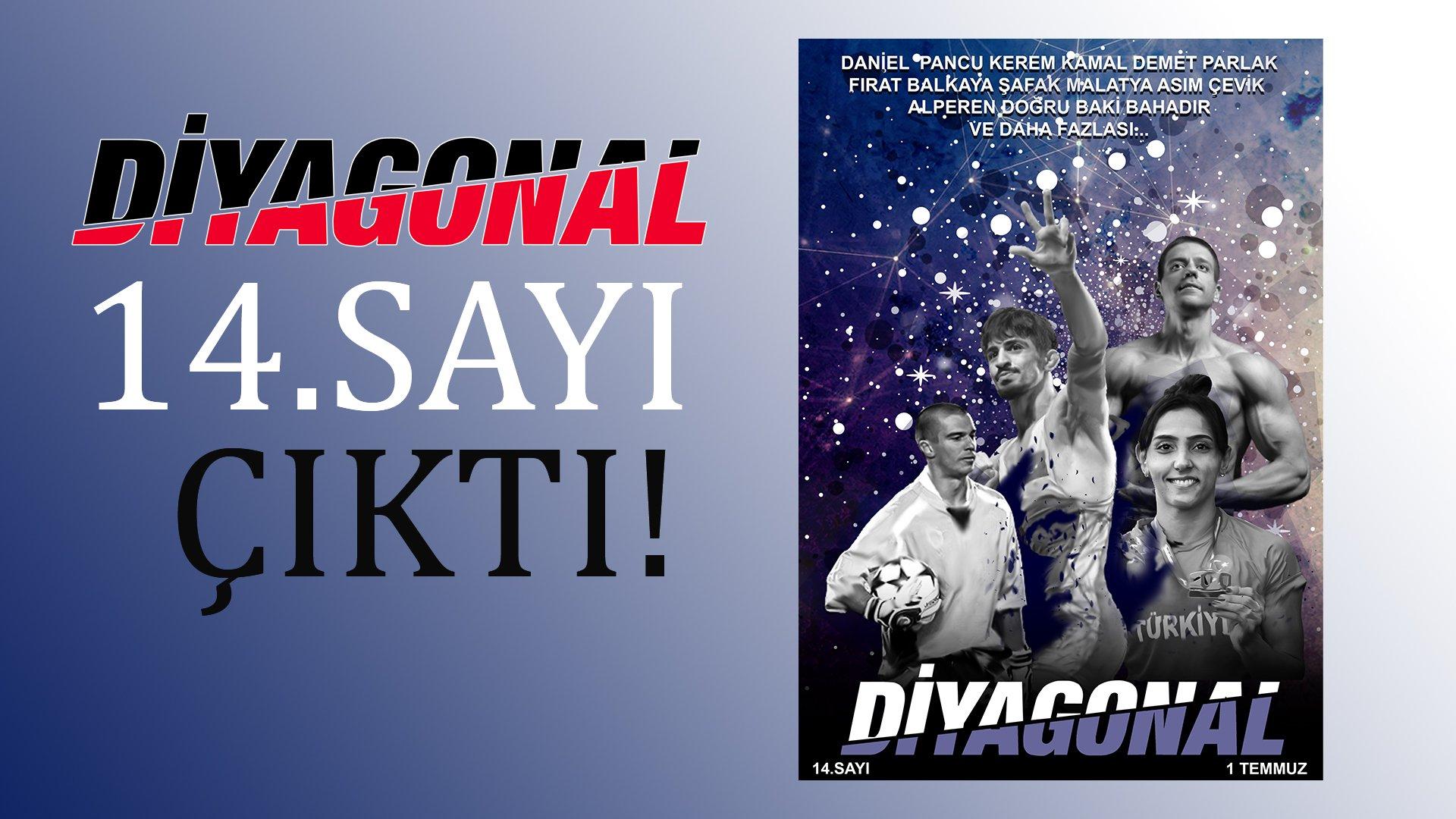 Diyagonal E-Dergi 14.Sayı çıktı